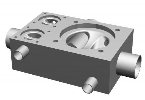 SISTO-CM601 Mehrsitzventilblock, Schmiedegehäuse,PN16