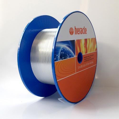 Aluminum coated step index fiber