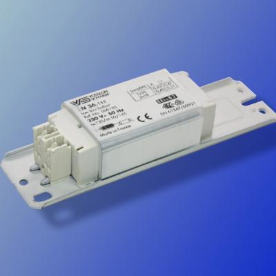 Ballast ferromagnétique clipsable 36 W T8