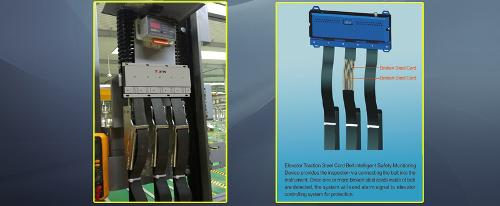 Elevator  Traction Steel Cord Belt  Intelligent Safety