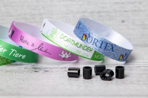 myVIPs® - pulseras de tela para eventos y festivales