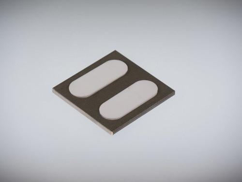 Gleitplatten mit gekammerten PTFE-Einlagen