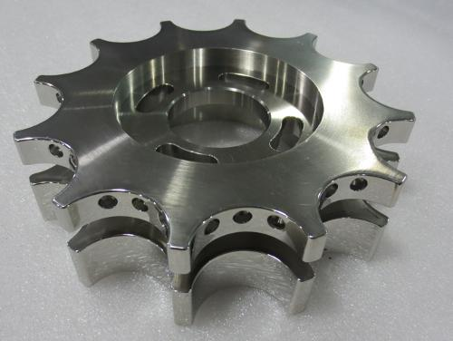 Mirror polished Stainless steel precision parts
