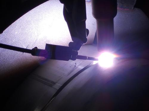 Services in cutting, forming, welding and surface treatment
