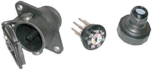 EBS-socket 7-pol. screwcontacts
