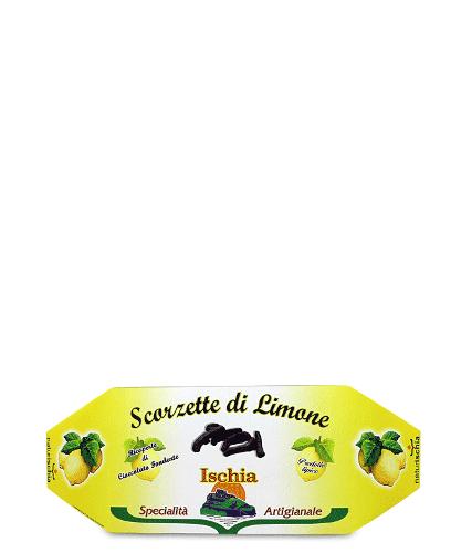 Scorzette di limone con cioccolato