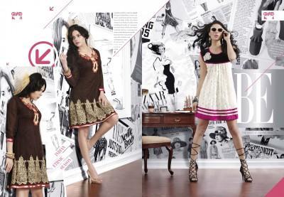 Cotton Party wear kurti
