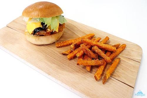 Recette Burger (nid D'oignon)