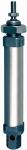 Round cylinder, double-acting, Piston 25, Stroke 250, G 1/8