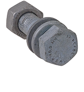 Sets of heavy hexagon structural bolts HV