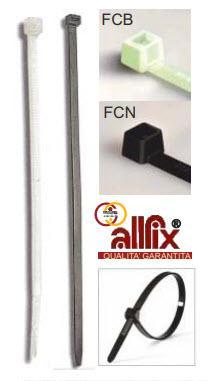 FC - Fascette per cablaggio in nylon PA 6.6 dimensioni in mm - FCB25100