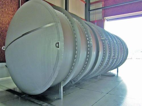 HydroSystemTanks® als Rohrbehälter