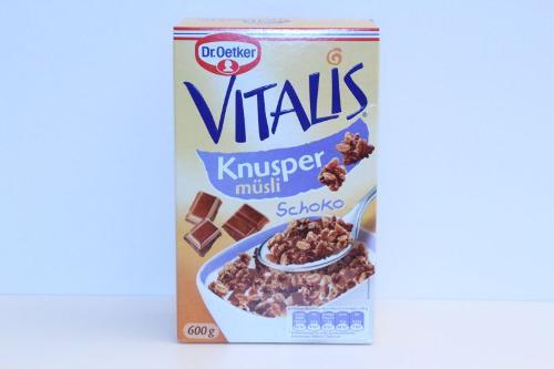 Dr.Oetker Vitalis Crunchy Chocolate Muesli