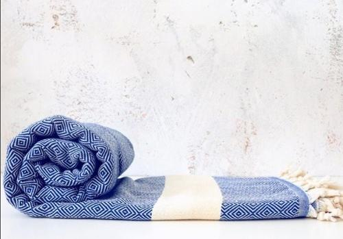 100% cotton throw blanket 200x240 cm