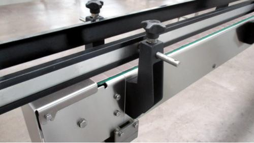Hinged belt conveyor Stainl. steel hygienic system