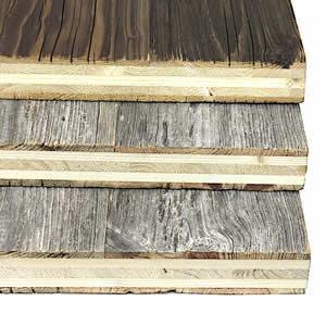 Panneau en vieux bois 5 Plis