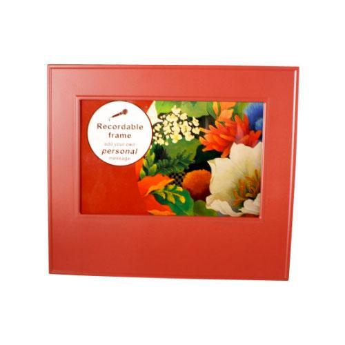 Christmas Holiday memory recordable photo frame
