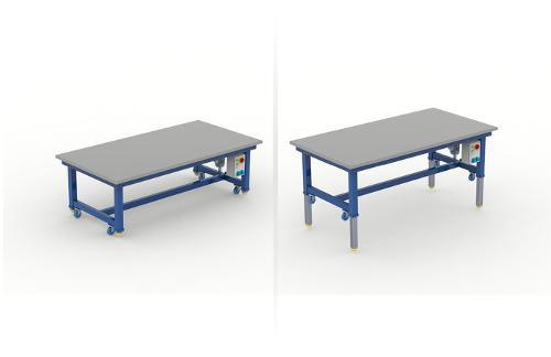Industrie Und Montagetisch - Schwenkbar
