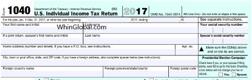 U.S. Expat Tax Returns