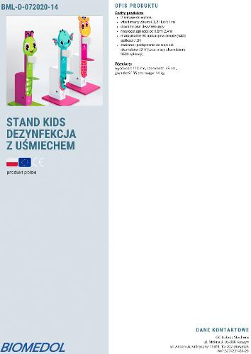 disinfection stand kids