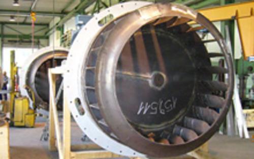 Industrieventilatoren für thermische und chemische Prozesse