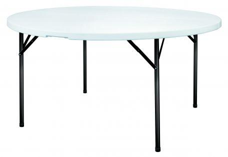 Table polypro ronde 122 cm