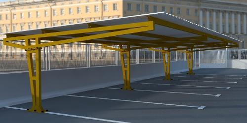 Marquesina parking modelo Iker2020