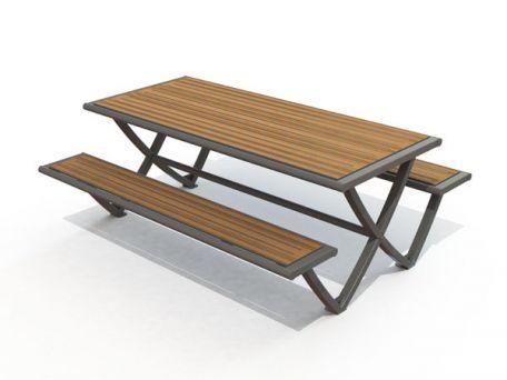 Table pique nique compact Pic Nic horizon
