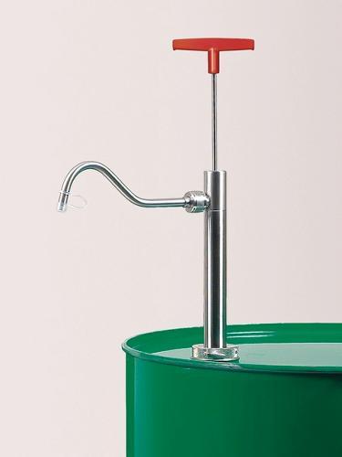 Stainless steel barrel pump