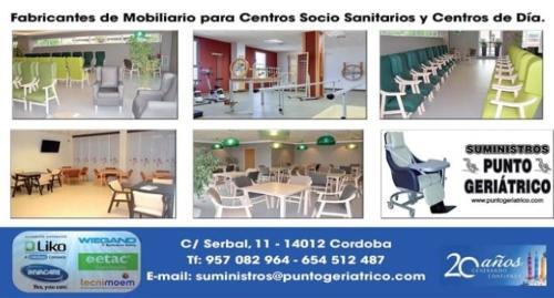 Mobiliario para residencia de Mayores
