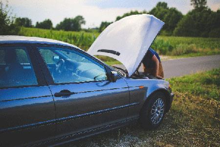 Transport de voiture en panne, accidentée