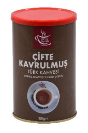Kahve Tiryakisi Çifte Kavrulmuş Türk Kahvesi 250 Gr