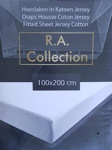 Draps housse coton jersey