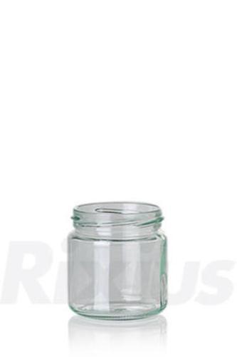 Konservenglas aus Klarglas