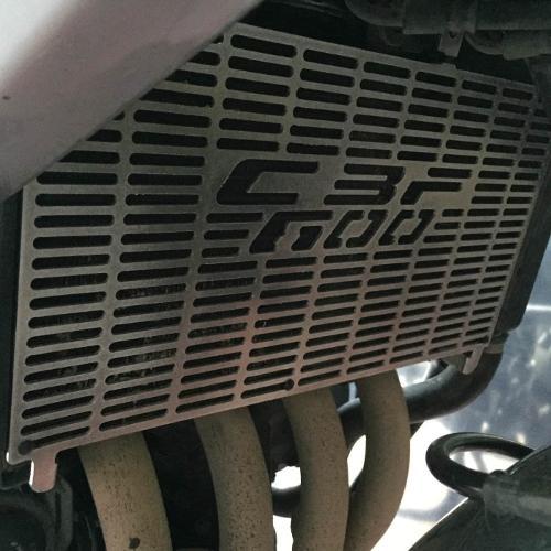 Honda CBF 600 Radiator Protection Guard for Motorcycle