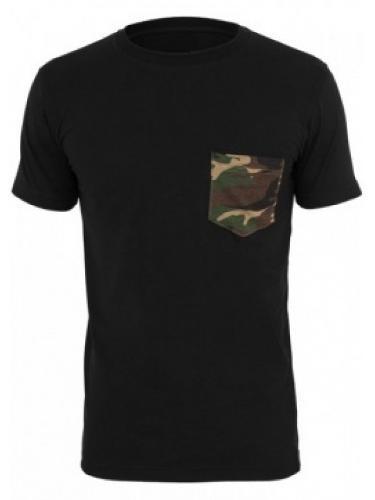 Camiseta com bolso camo