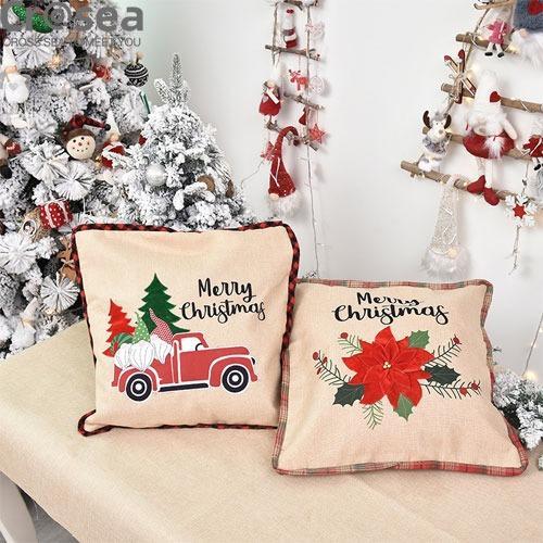 Christmas Pillow Cases Decoration Pillowcases