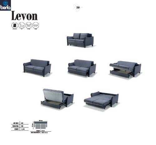 Sovekabine sofa Levon