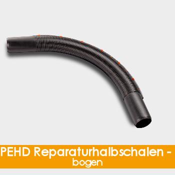 PE-HD Reparaturhalbschalenbogen