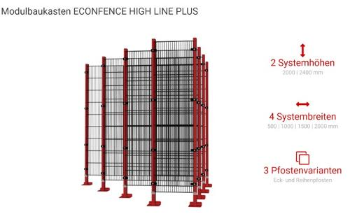 ECONFENCE HIGH LINE PLUS
