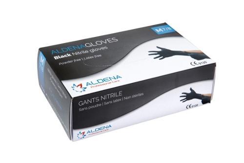 Gants Nitrile Noir ALDENA