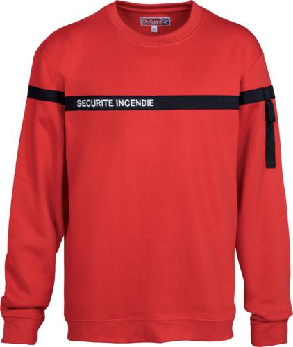 Sweat Shirt Securite Incendie