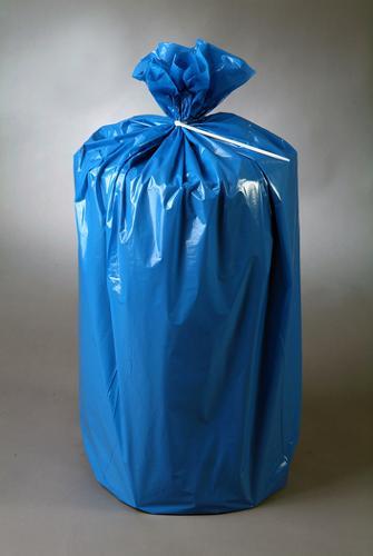 Müll- und Abfallsäcke aus Polyethylen oder Kraftsackpapier