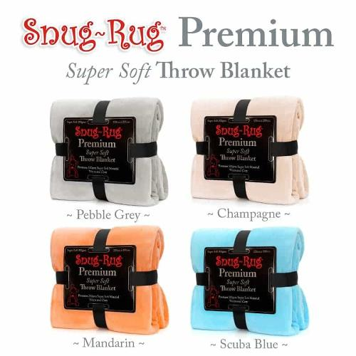 Snug Rug Premium Throw Blanket