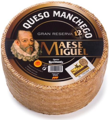 Quesos Manchegos DOP - Maese Miguel