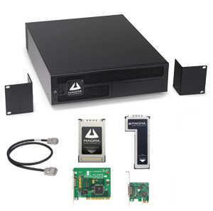 3-Slot PCI Erweiterung m. PCI, PCIe Host Schnittstelle