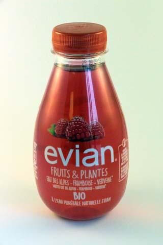 Evian Fruits & plants Water-Raspberry-Vervain