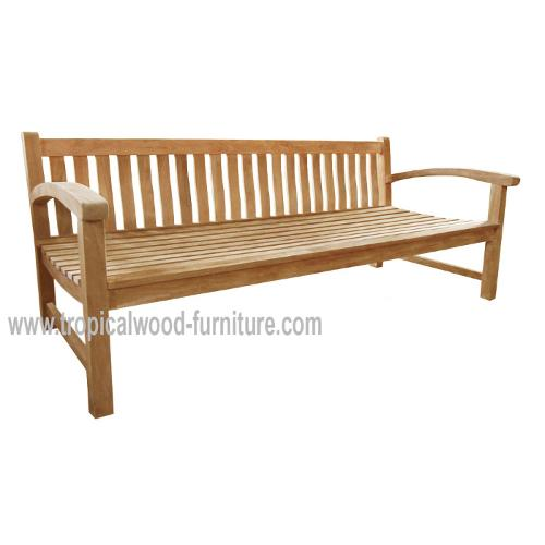 Big Ben Teak Garden Deep Seating Sofa 210 cm