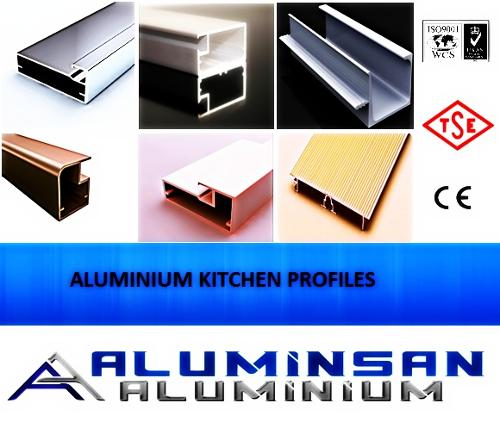Aluminium Kitchen Profiles