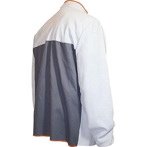Veste de soudeur en cuir anti feu - Taille XL